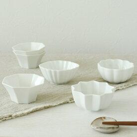 【白花】しろはな 豆小鉢 / 豆小鉢 小鉢 つまみ鉢 ボウル 小鉢 ミニグラタン皿 かわいい おしゃれ ホワイト