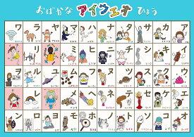 お風呂学習ポスター ひらがな・カタカナ・ABC (カタカナ)