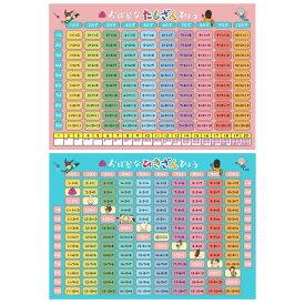 おばかシリーズお風呂学習ポスター 2枚セット(足し算・引き算)