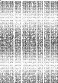 お風呂学習ポスター (円周率ポスター(中 42×30cm))