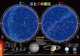 お風呂 宇宙ポスター (夏と冬の星座(大 60×42cm))