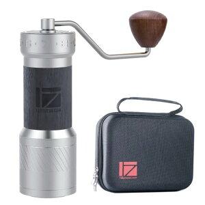 1zpresso ワンゼットプレッソ K-Plus 手挽きコーヒーミル エスプレッソ刃 coffee grinder グラインダー 豆挽き機 手作業 コーヒー 豆挽き 粗さ調整可能 コーヒー マシン 研削粉 家庭用 キャンプ アウ