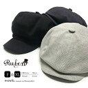 メンズ ゴルフ 帽子 キャスケット 大きいサイズ RUBEN ルーベン THERMAL CASKET サーマルキャスケット キャップ ゴル…