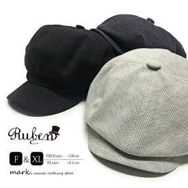 メンズ ゴルフ 帽子 キャスケット 大きいサイズ RUBEN ルーベン THERMAL CASKET サーマルキャスケット キャップ ゴルフキャップ レディース カジュアル アウトドア フリーサイズ XL ビッグサイズ アジャスター サイズ調節