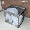 【カラスネット】 戸別回収向け ゴミボックス 日本製 【幅55cm×奥行55cm×高さ55cm(内寸)】ゴミストッカー/家庭用…