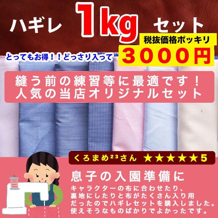 生地 ハギレ 1kg セット 生地通販のマルイシ 楽天ランキング1位獲得!