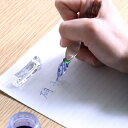 ガラスのペン 硝子の万年筆 硝子製 インク付き【各1点限り】【あす楽対応】【楽ギフ_包装】