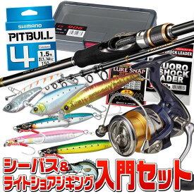 (S1)【送料無料】シーバス&ライトショアジギング入門セット