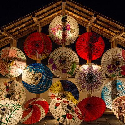 日本の涼和柄文様洗える麻敷パッド「千鳥卍(ちどりまんじ)」薄紅Q(クイーン)