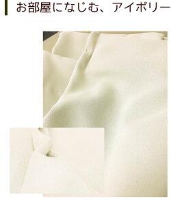 遮光性カーテン2枚組タッセルアジャスターフック付グリーンベージュ腰高窓掃出し窓出窓【コンビニ受取対応商品】【あす楽】