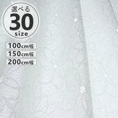 レースカーテン100cm幅2枚入150cm幅200cm幅1枚入ストライプ柄チェック柄雲柄UVカット効果遮像遮光【コンビニ受取対応商品】【あす楽対応】