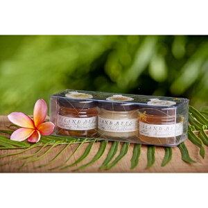ギフトセット ハワイお土産【ハワイアンハニーギフトS】3種類の花から採取された100%オーガニックな糖分、酵素そのままのハワイ島の天然ハチミツです。