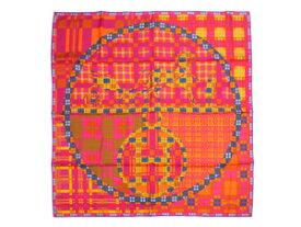 エルメス/カレ90 スカーフ 【Ex-Libris A Carreaux (エクスリブリス チェック)】【SALE】【新品同様品】エルメス カレ90 スカーフ