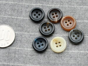 15mm 色違い ボタン 7個セット Button 釦 プラスチック ソーイング 裁縫 洋裁 雑貨 手作りに 【0815楽天カード分割】 P16Sep15