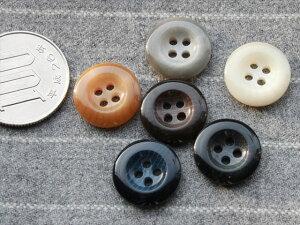 15mm 色違い ボタン 6個セット Button 釦 プラスチック ソーイング 裁縫 洋裁 雑貨 手作りに コミコミ ポッキリ 【メール便送料無料】