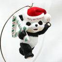 【 X'mas 】 1995年 4回目のクリスマス チャイルド エイジ コレクション パンダ クリスマス ツリー キープセーク オ…