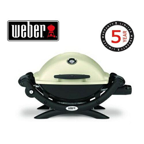 Weber 51062008 ウェーバー Q1200 ガスグリルBBQ グリル 温度計付き