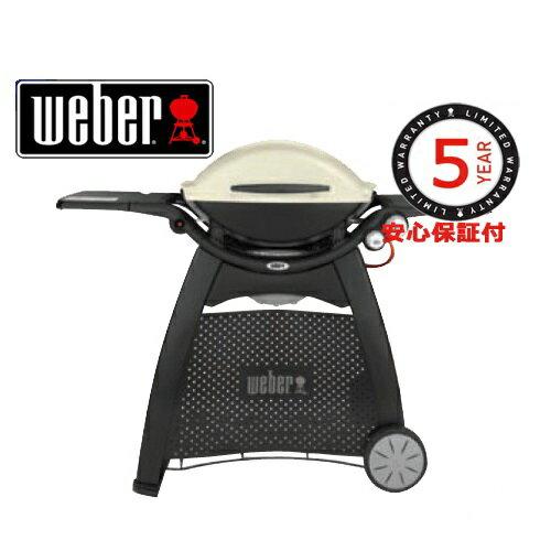 Weber 56060108 ウェーバー Q3100 ガスグリルBBQ グリル 移動が楽なカート付き