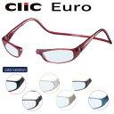 送料無料 ClicEuro クリックユーロ シニアグラス リーディンググラス 老眼鏡 クリックリーダー 比べてみてくださいオ…