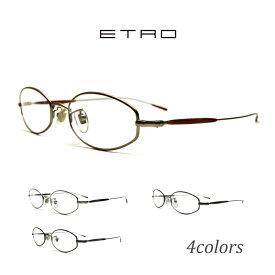 送料無料 メガネ ETRO エトロ VE9404G 全4色 オーバル メタルフレーム 度付き 眼鏡 ブルーライトカット 家用 布ケース 2020