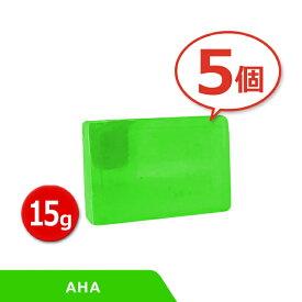 [ 5個セット ] サンソリット スキンピールバー ミニ AHA 15g Skin Peel Bar