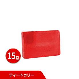 サンソリット スキンピールバー ミニ ティートゥリー 15g Skin Peel Bar