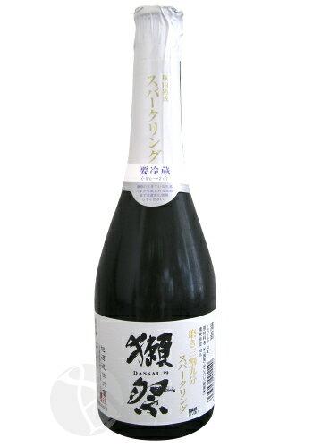 お中元 ギフト 獺祭 磨き三割九分 発泡にごり酒 スパークリング 360ml だっさい 旭酒造 日本酒 山口県