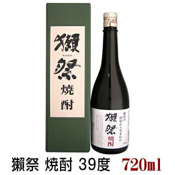 獺祭 焼酎 39度 720ml 専用化粧箱付 だっさい 旭酒造 米焼酎 山口県
