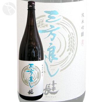≪日本酒≫ 喜楽長 純米吟醸 三方良し 【酒門】 1800ml :きらくちょう