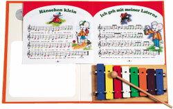 子ども用楽器入園祝い音楽おもちゃ子供本格本物カラーメタロフォンブックgoldonゴールドン知育玩具知育楽器楽器玩具プレゼント