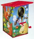 ブリキ ぶりき ブリキのおもちゃ 貯金箱 goldon ドイツ製 ミュージック・フォ・リビング【ブリキのバーディー貯金箱】