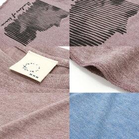 Tシャツ7分袖プリントShadowoftime倉敷児島発/LSネット限定TシャツXSSMLXLサイズ