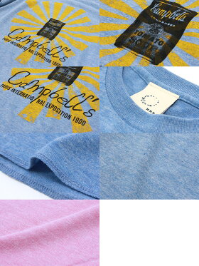 Tシャツ7分袖プリントSOOP倉敷児島発/LSネット限定TシャツXSSMLXLサイズ