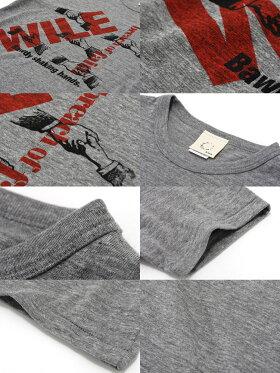 Tシャツ半袖プリントWILEネコポス倉敷児島発/SSネット限定TシャツXSSMLXLサイズ