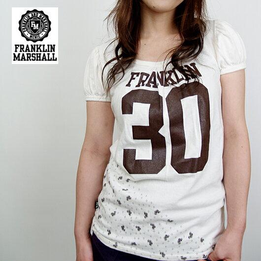 【FRANKLIN MARSHALL/フランクリンマーシャル/SS】パフスリーブTシャツ【YDKG-kd】
