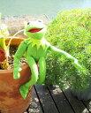 【 KERMIT/カーミット 】The Muppets マペットショー/マペッツ『カーミット トーキングプラッシュ※ワケあり※』 アメキャラ カエル …