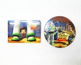 【TOYSTORY/トイストーリー】バッジ『ウッディ&バズ/2コSET』アメリカ雑貨 アメ雑 アメリカン雑貨 disney ディズニー ピクサー ウッディ バズ