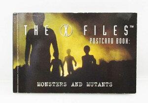 【X FILES/Xファイル】『ポストカードブック/MONSTERS AND MUTANTS』海外ドラマ SF UFO エイリアン アメリカ雑貨