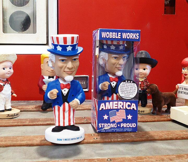 ◎【FUNKO】ファンコ ボビンヘッド アンクルサム Uncle Samアメリカ・国旗・星条旗 アメリカン雑貨・アメリカ雑貨・アメ雑・ボブルヘッド