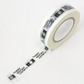 mt×mi-naコラボ ミーナマスキングテープ/カメラ柄(カモ井加工紙製)