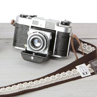 카메라 여자로 귀엽다!여자 카메라 스트랩/레이스 브라운