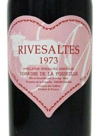 1973年 リヴザルト / ドメーヌ・フォセイユ・ピンクハートラベル(うし年)[フランス/赤ワイン/甘口/フルボディ/750ml/1本]