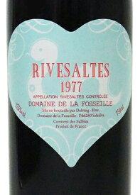 1977年 リヴザルト / フォセイユ・ブルーハートラベル(へび年)[フランス/赤ワイン/甘口/フルボディ/750ml/1本]