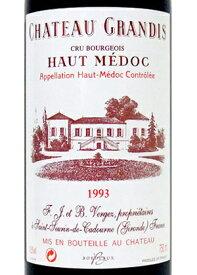 1993年 シャトー・グランディス[フランス/赤ワイン/フルボディ/750ml/1本]