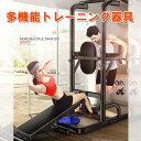 多機能トレーニング器具 フィットネス器具 ぶら下がり健康器 トレーニング 懸垂 器具 腹筋 マシン 筋トレーニング 懸…
