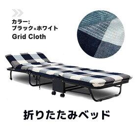 折りたたみベッド 簡易ベッド 入院 付き添い コンパクト/組み立て不要シングル マットレス インテリア 通販 ブルーベルベット