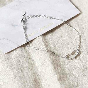 ブレスレット レディース シンプル 金属アレルギー シルバー プレゼント ブレス 手首 ブランド 記念日 パーティー 20代 30代 40代 母の日 誕生日 贈り物 彼女 妻 嫁 アクセサリー アクセ