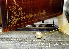 コットンパール ホワイト12mm ネックレス チェーンの長さ:約38〜43cm(アジャスターで調整可能)