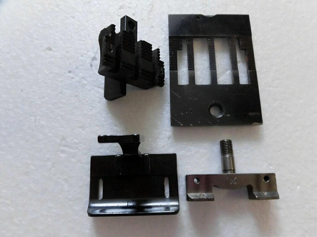 【中古】2本針本縫い針送りミシン ゲージセット 1 1/4インチ