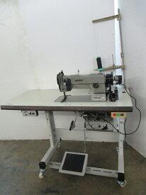 【中古】ジューキ JUKIミシンJUKI 1本針総合送り自動糸切ミシン。モデルNO−DNU-241-6型ー100V仕様 可変速モーター付き。1セット